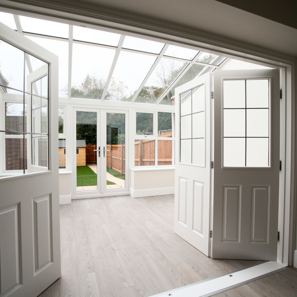 Lean To Conservatory - New View Windows Saltash Cornwall