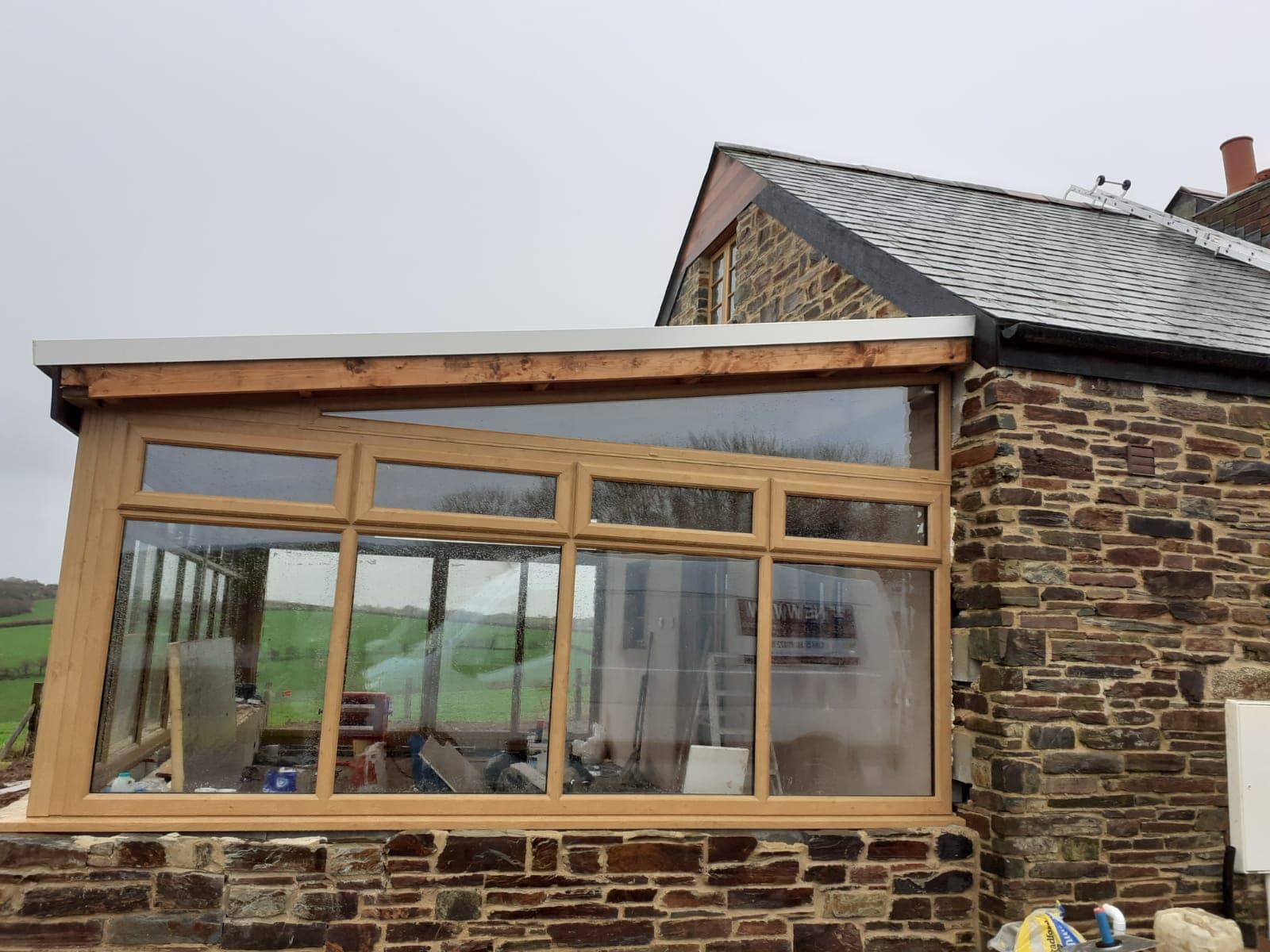 Liskeard Irish Oak Conservatory - New View Windows Saltash ...